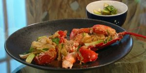 lobster-with-ginger-and-spring-onions