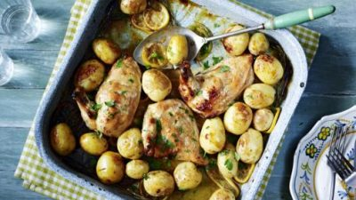 Lush lemon pepper chicken