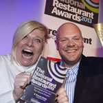 beth kerridge and tom kerridge restaurant award
