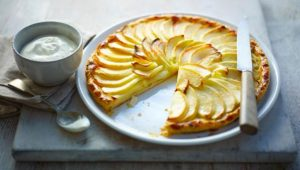 french-apple-tart-with-calvados-and-chantilly-cream