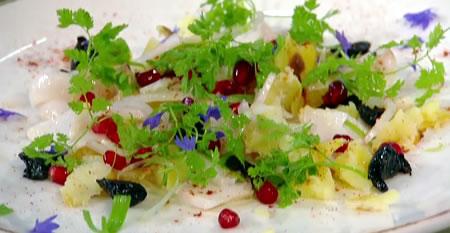 Insalata di baccalà (salt cod salad)