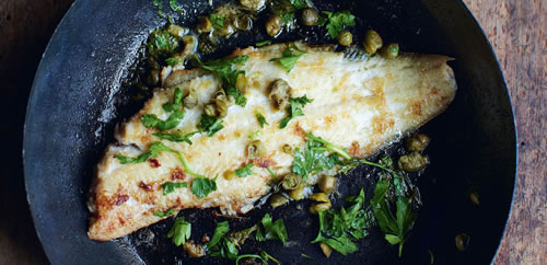Pan fried sole – Sole meunière