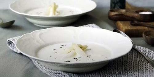 Asparagus soup (Spargel)