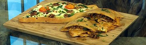 Adjaruli khachapuri (Georgian bread)