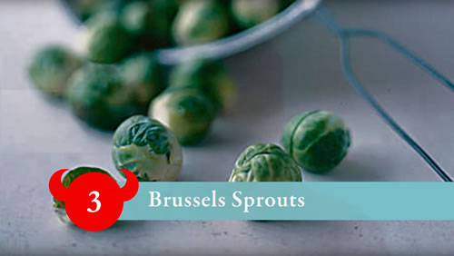 Food hell number 3 - brussels sprouts