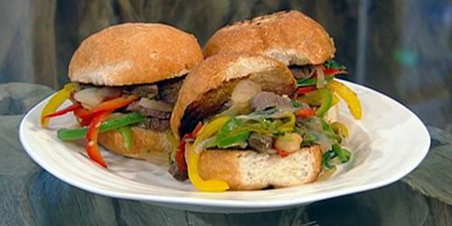 Goan chilli beef rolls