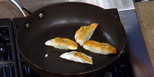Turkey, date and chestnut dumplings
