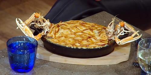 Luxury fish pie