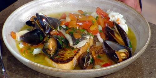 Brodetto (Italian fish stew)