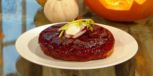 Beetroot tarte tatin - Saturday Kitchen RecipesSaturday ...
