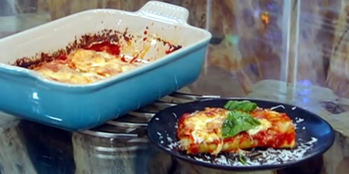 Sausage and ricotta cannelloni