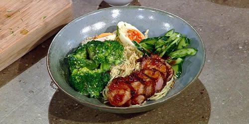 Soy-and-honey-pork-pasta-bowl-saturdaykitchenrecipes.jpg