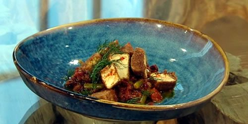 Spiced-crispy-tofu-with-green-been-olive-and-caper-relish.jpg